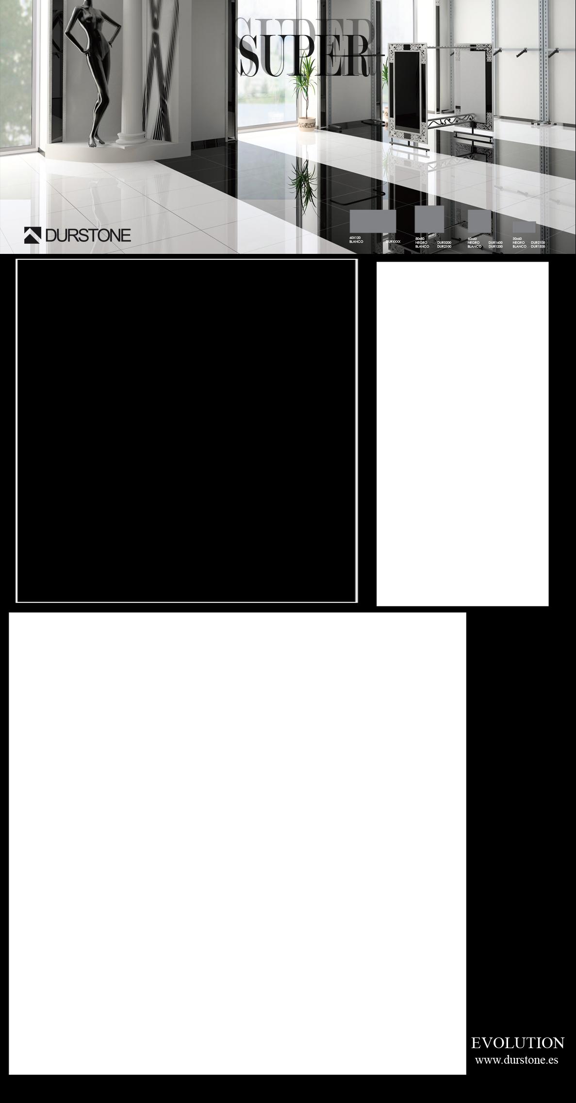 5353 PV PANEL SUPER BLANCO / NEGRO Cod. 5353