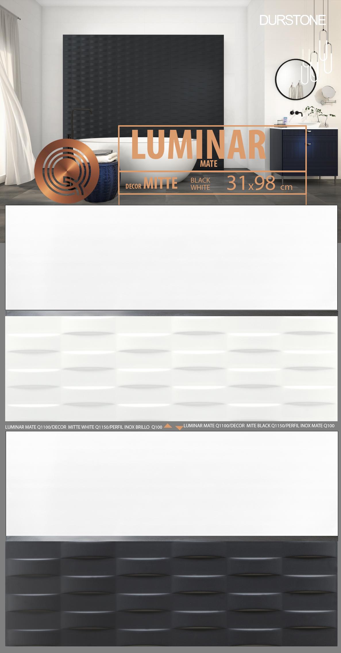 5375 RV PANEL LUMINAR-2 MITTE Cod. 5375