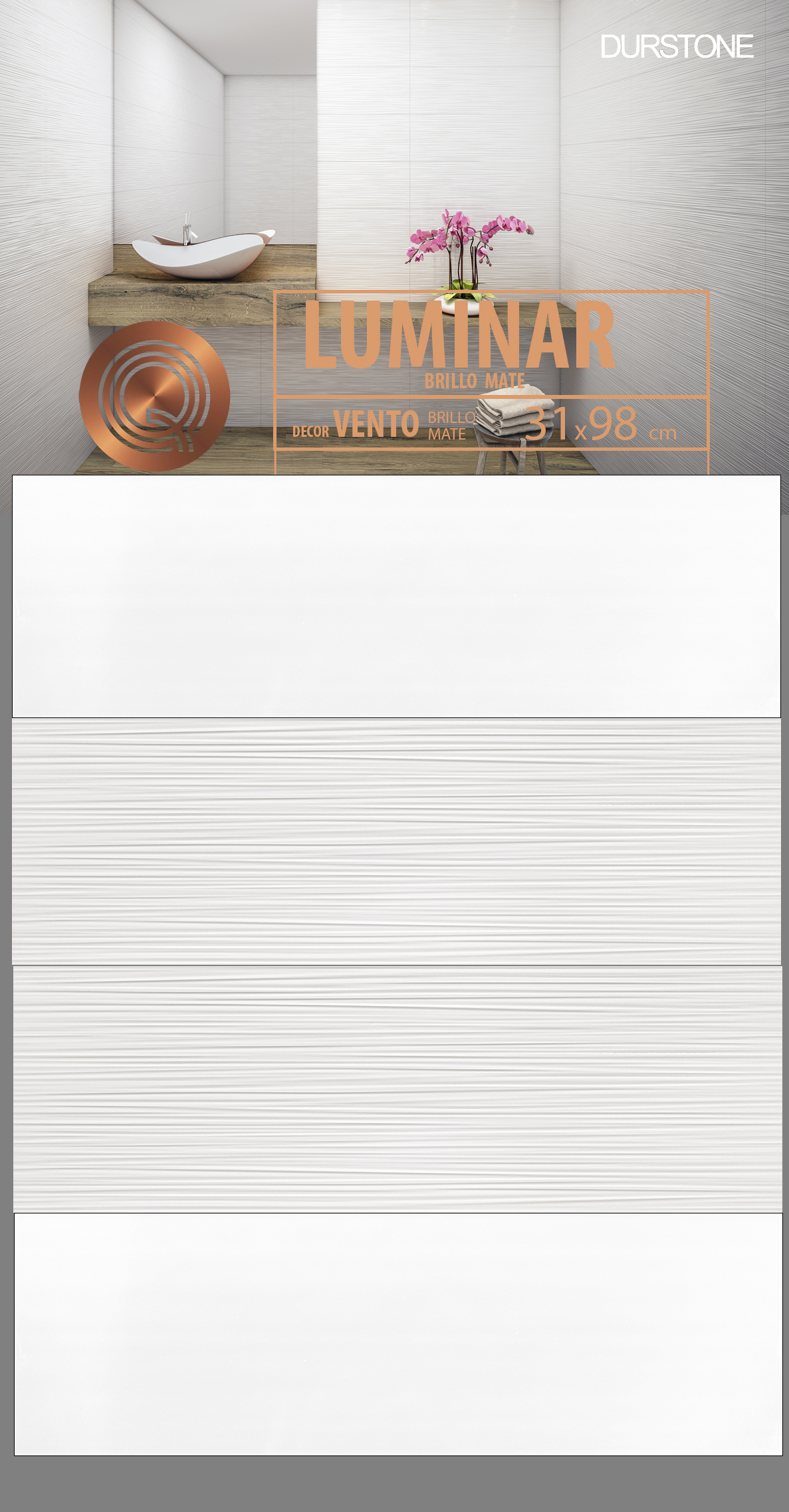 RV PANEL MIX LUMINAR / VENTO Cod. 5661 Brillo / Cod. 5660 Mate