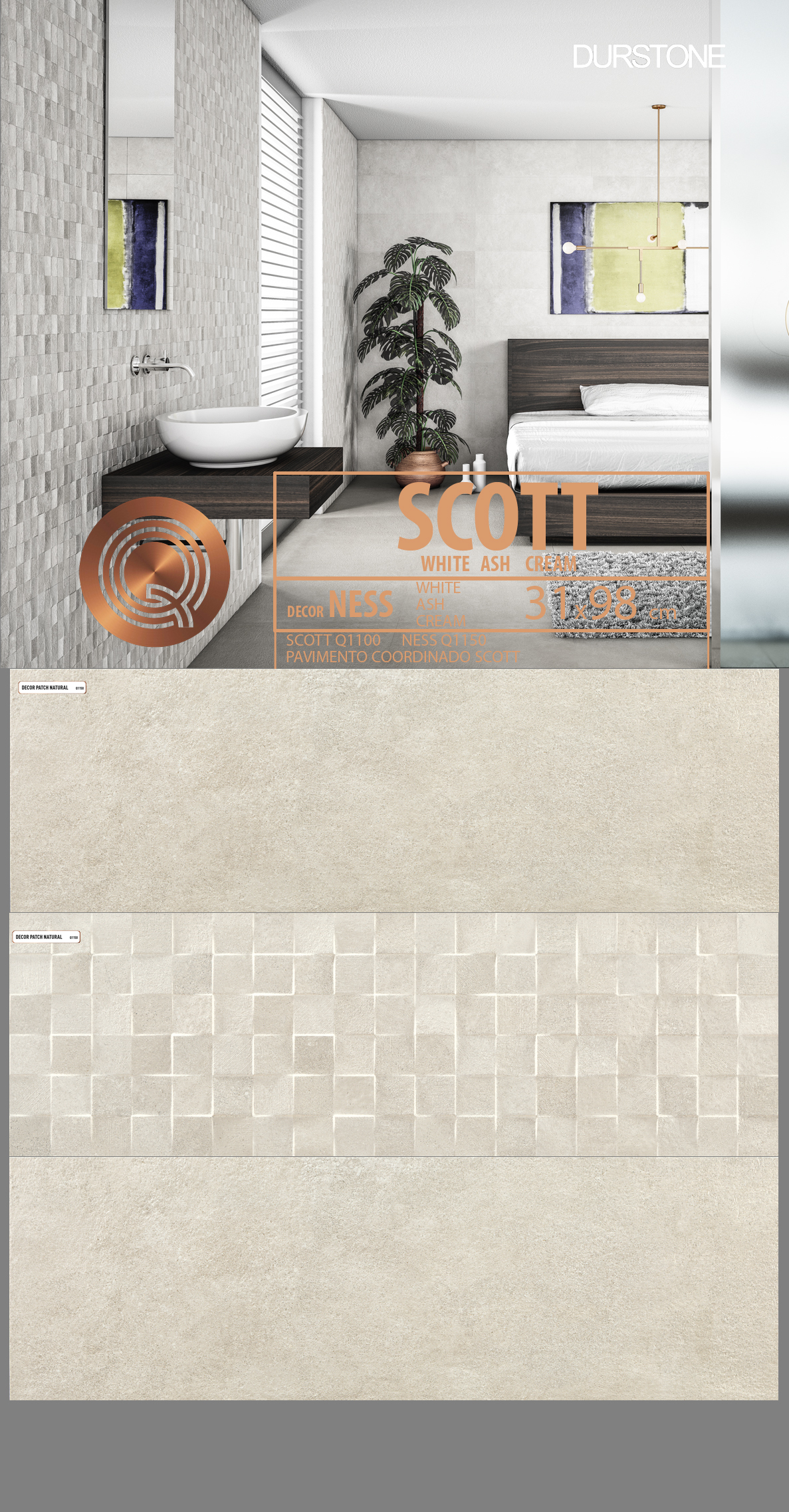 5251 RVM PANEL MIX SCOTT NESS CREAM Cod. 5251