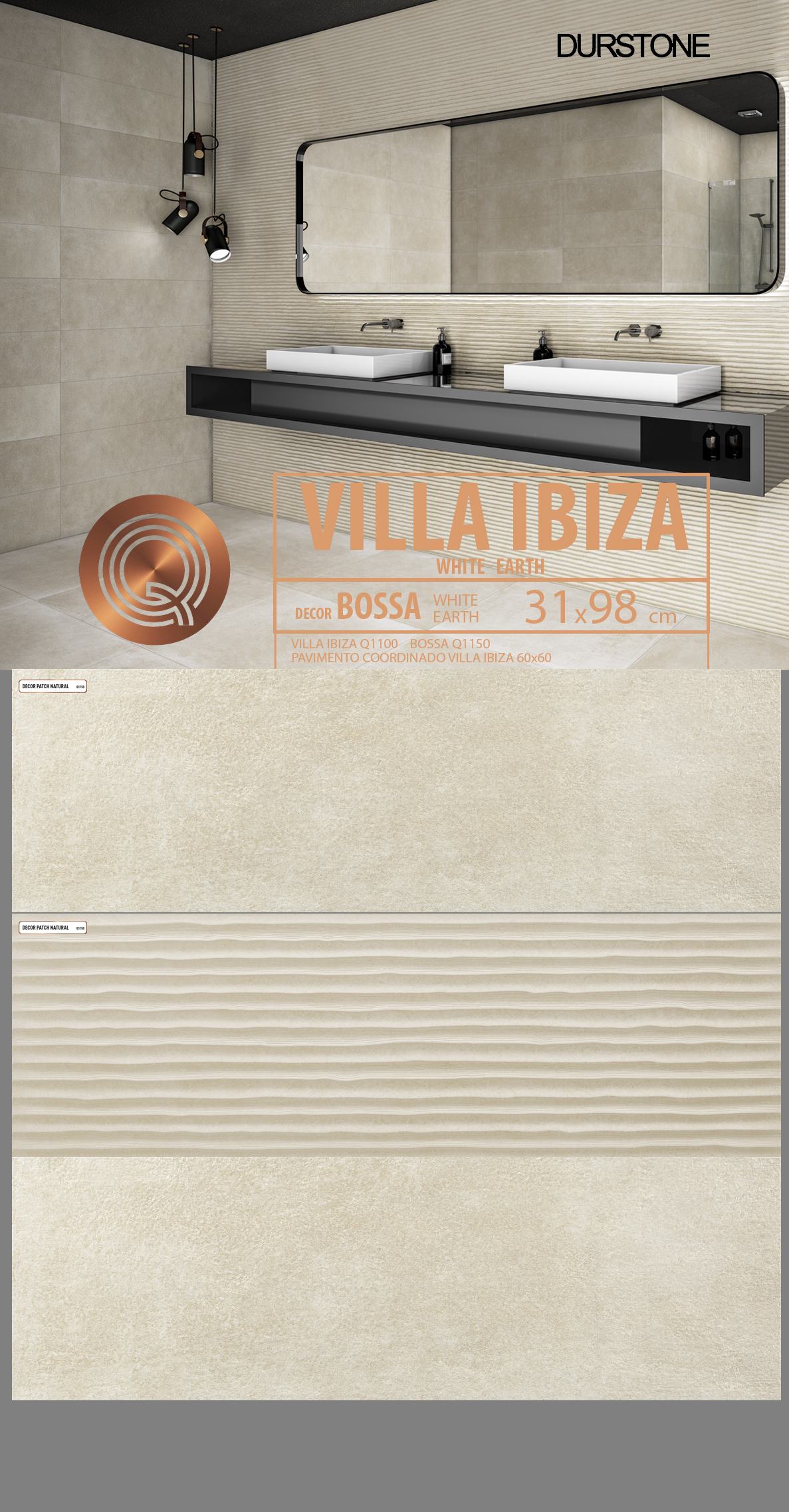 5284 RVM PANEL MIX VILLA IBIZA BOSSA EARTH Cod. 5284