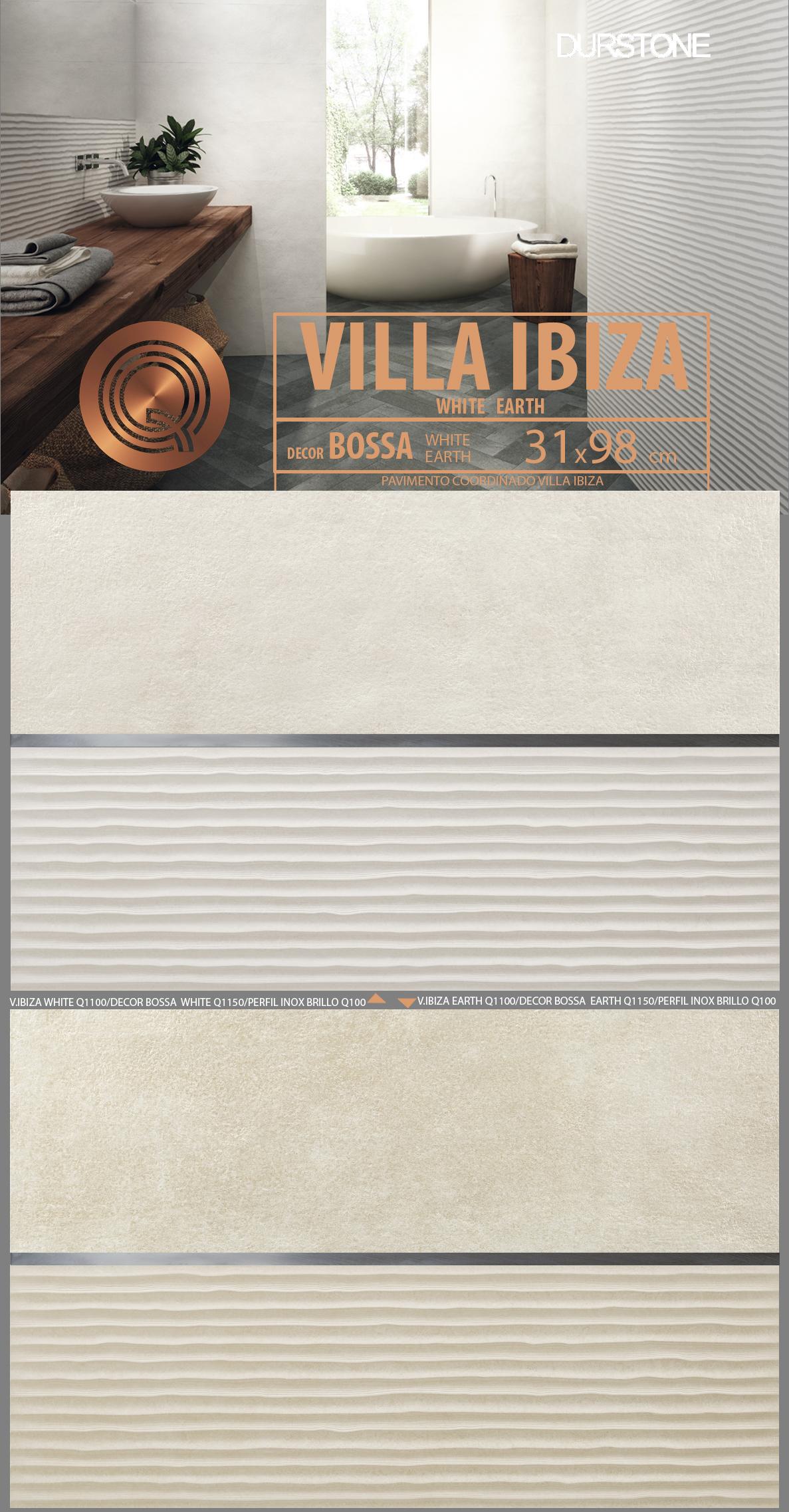 5281 RV PANEL VILLA IBIZA BOSSA Cod. 5281
