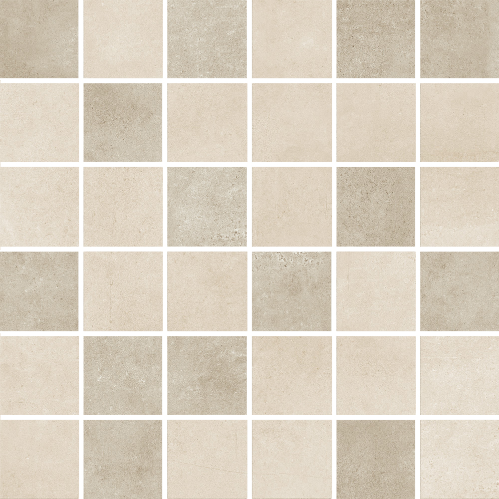 Mosaico Luxot Greyge - 30x30